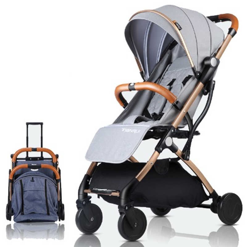 Baby stroller can be used as a reclining, light folding, ultra-light baby stroller and a babys umbrella troll ey for newbornsBaby stroller can be used as a reclining, light folding, ultra-light baby stroller and a babys umbrella troll ey for newborns