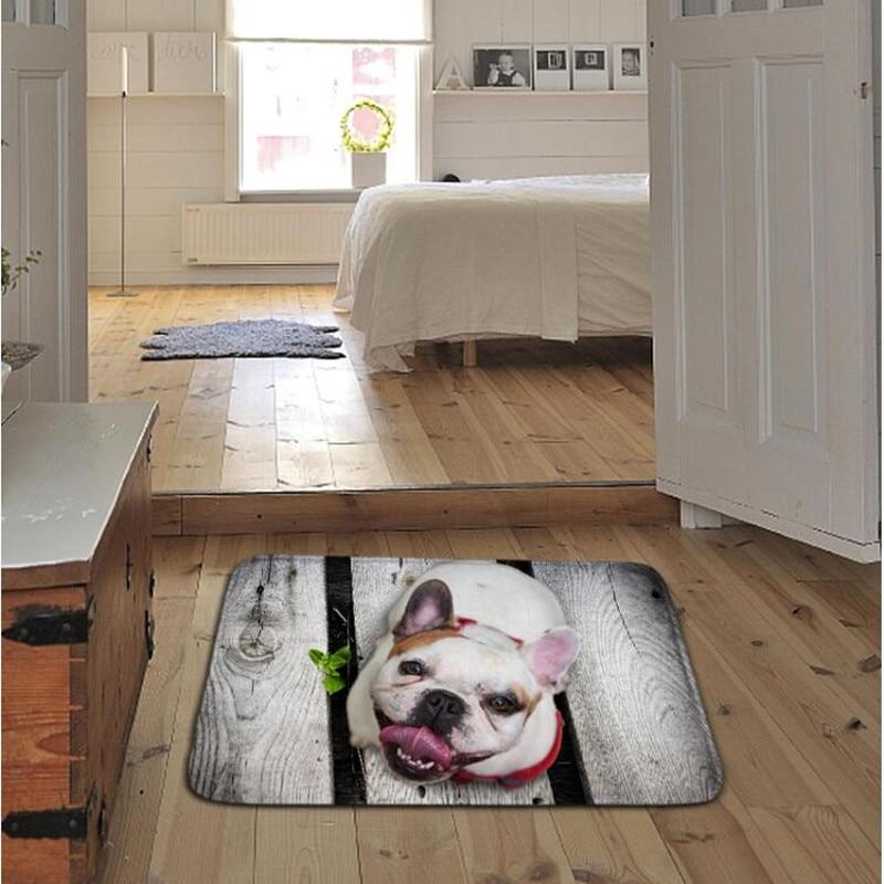 ZIZI FISH 3Danimal Soft Carpet Area Rug Slip Resistant Door Floor Mat For Bedroom Livingroom not fade not drop hair