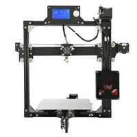 LCD Display Professional 3D Printer High Precision Aluminum Alloy Frame Small Printing Size DIY 3D Printer Kit