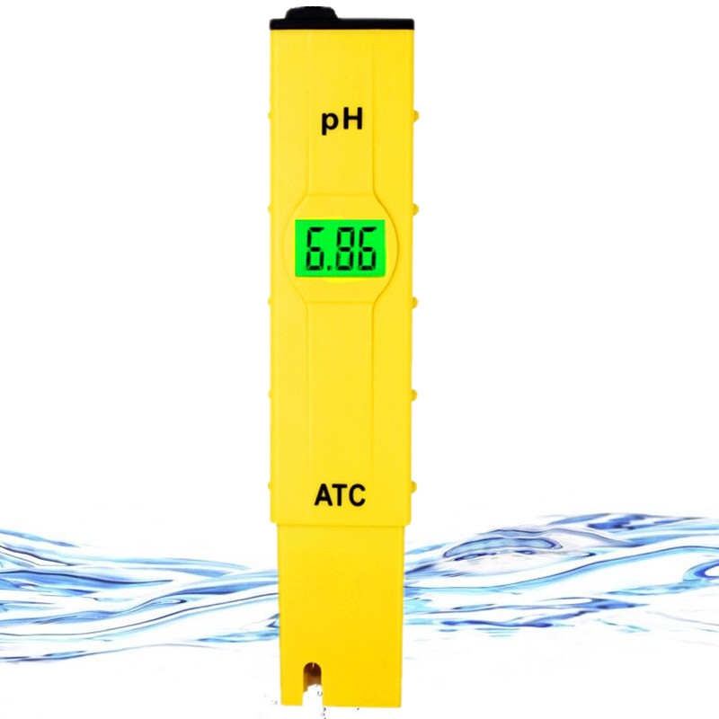 High quality Digital aquarium PH meter 0.1 accuracy portable Pocket tester waterproof with backlight 20% OFF цена