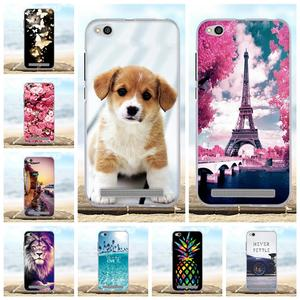 "For Funda Xiaomi Redmi 5A Case Silicone Cover For Xiaomi Redmi 5A 5 A 5.0 ""Cases"