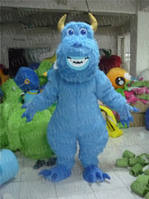 blue Sully monster mascot costume halloween costumes party costume dinosaurs fancy dress christmas gift