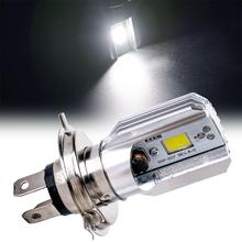 H4 Led Motorcycle Headlight 12V HS1 LED Moto Bulbs 2000lm Super Bright White Motorbike Head Lamp Scooter Accessories