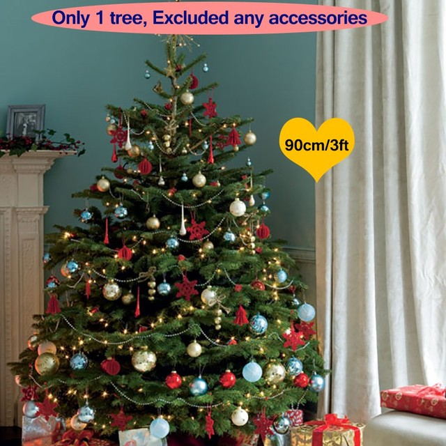 90cm 3ft artificial christmas tree decorations christmas decorations for home xmas tree for new year festival