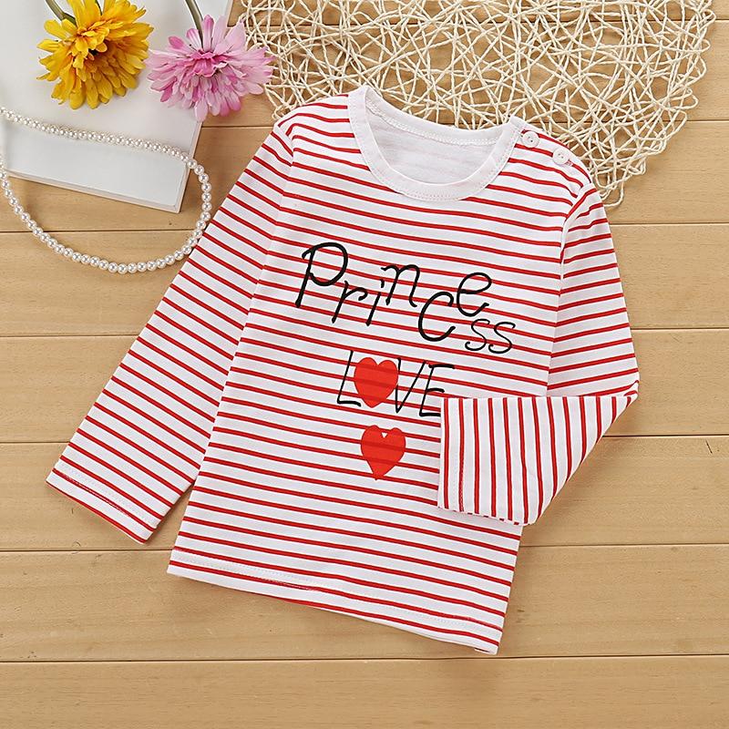 8b2cf2f683 2018 új kisfiú és lány ruhák rajzfilm hosszú ujjú póló gyerek ruha póló  pamut minőségű gyermek ruhák