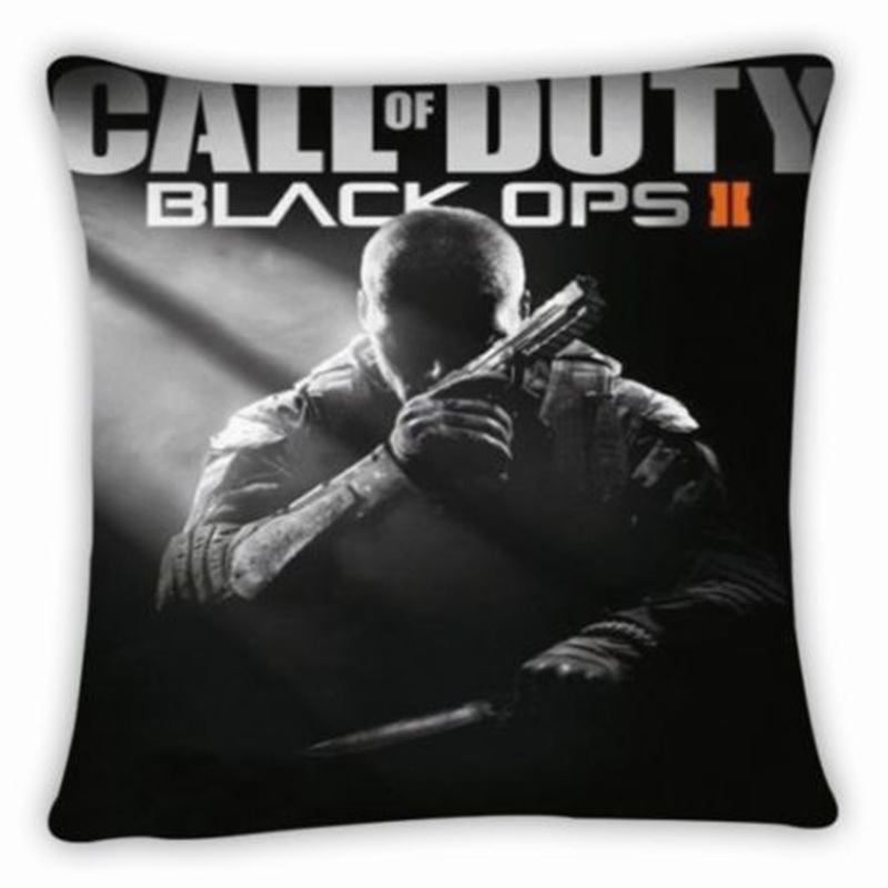 New Call of Duty Throw Pillow Case Cover bed Cushion High Definition printed Pillowcase size 38x38cm free shipping