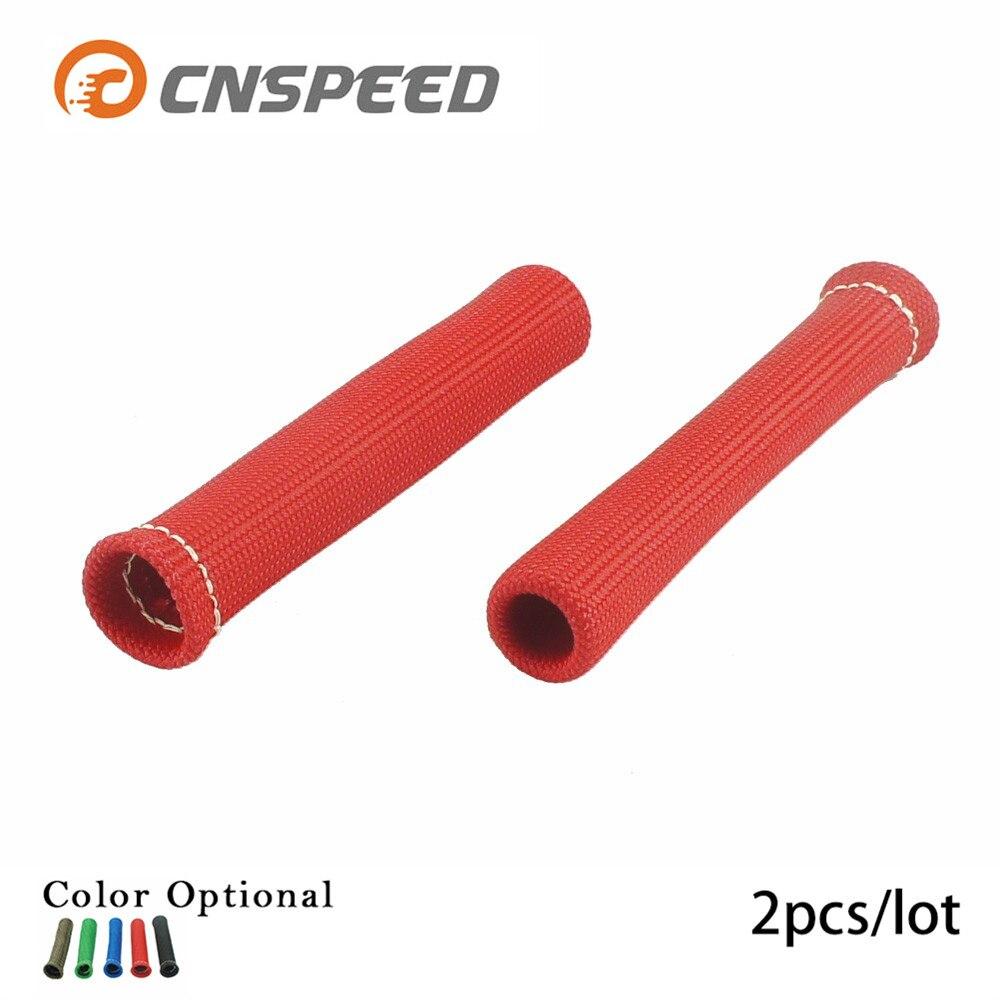 Spark Plug Wire Heat Shield Protector Insulators 1200 Degree 8pcs FORD SILVER