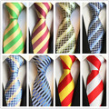 2017 Оптовая бизнес формальный галстук мужская мода полиэстер шелковый галстук бизнес gravata мужчины галстуки плед полосы мужчина костюмы галстук