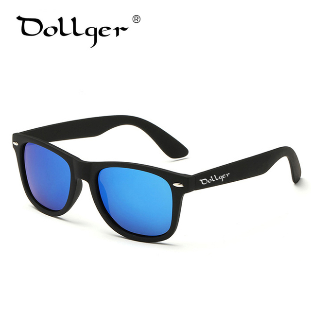 3f66714085 Dollger Vintage Polarized Men Sunglasses Women Classic Luxury Brand  Designer Mirrored Driving Sun Glasses for men With Logo D01