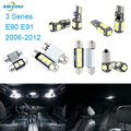 XIEYOU 14pcs LED Canbus Interior Lights Kit Package For 3 Series E90 E91 (2006-2012)