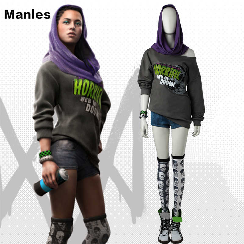 Detail Feedback Questions About Watch Dogs 2 Sitara Cosplay Costume