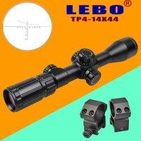 LEBO TP 4 14X44LSFIR оптические направленные охотничье ружье путешествия наружного воздуха пистолет airsoft Снайпер пистолет аксессуары съемки прицел