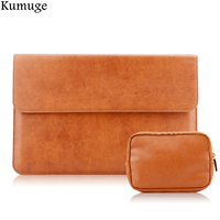 Fashion PU Leather Laptop Sleeve Bag For Xiaomi Air 12 5 13 3 Inch Laptop Carry