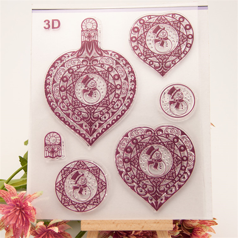 New arrival stencil diy scrapbooking clear stamp3D loving heart for wedding paper card christmas gift RM-236 new arrival stencil diy scrapbooking clear stampbird and flowers for wedding paper card christmas gift rm 049