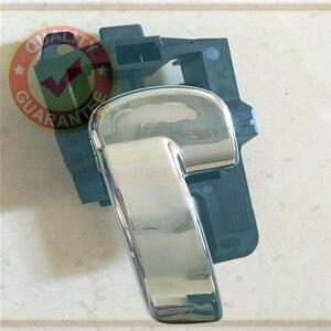 Image 3 - 80671 jd00e 80670 jd00e 닛산 qashqai j10 (04 13) 도어 손 내부 왼쪽 오른쪽 내부 핸들 세트 크롬