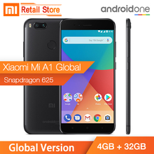 Global Version Xiaomi Mi A1 4GB 32GB 5.5″ 1080P Snapdragon 625 12.0MP Dual Camera Smartphone Full Metal Body Android One OTA CE