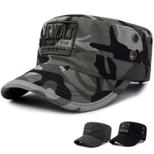 Tactical Sun Hat Men's Camouflage Military Cap Outdoor Hunting Adventure Cap Army Navy Training Helmet 2019 New Unisex Flat Cap цена 2017