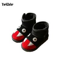 Yorkzaler Winter Kids Snow Boots 2018 New Fashion Cartoon Children Boots Girls Boys Toddler Boots For