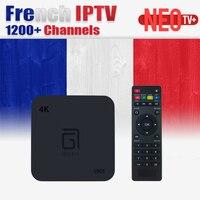 Français Android TV Box Neo tv Canaux Arabe Belgique IPTV abonnement LiveTV pour MAG254 Android Smart TV box France Belge