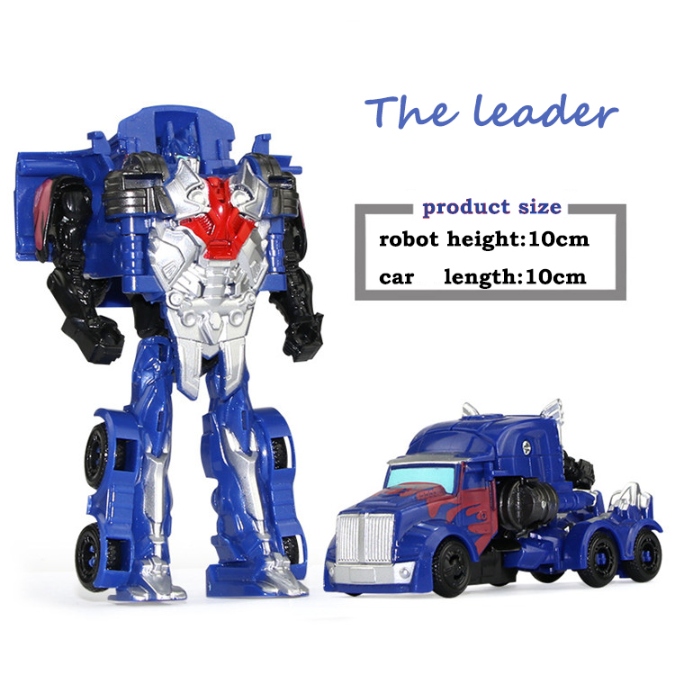 Figures Kids Transformation Robot Plastic Mini Doll Action-Toy Hot-Quality Arrival 11cm