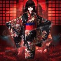HOT Anime COS Hell Meisje supia-yisol Jigoku Shoujo Enma Ai Cosplay Kostuum Bloemen Kimono Pretty Uniform HighQuality Gratis verzending