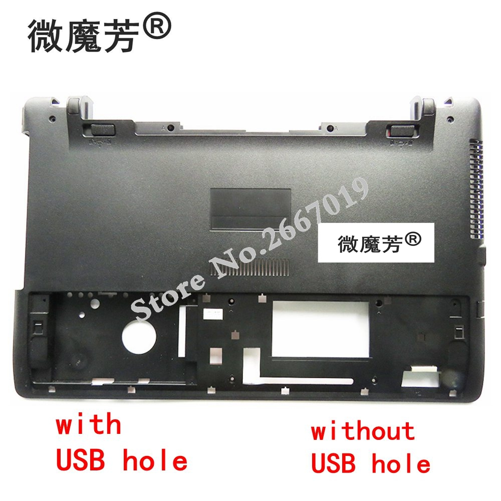 NEW Laptop Bottom Base Case Cover for ASUS X550 X550C X550VC X550V X550C 13N0-PEA1511/HDD hard cover shell/CD-ROM cover все цены