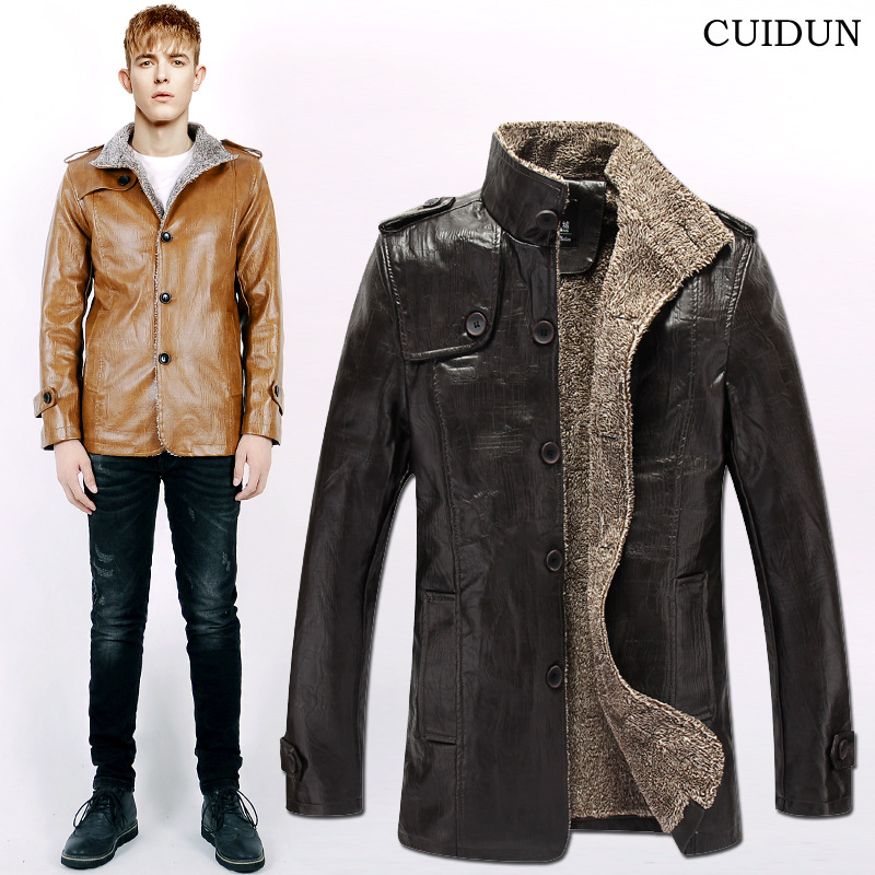 Leather Jackets for Young Men Promotion-Shop for Promotional
