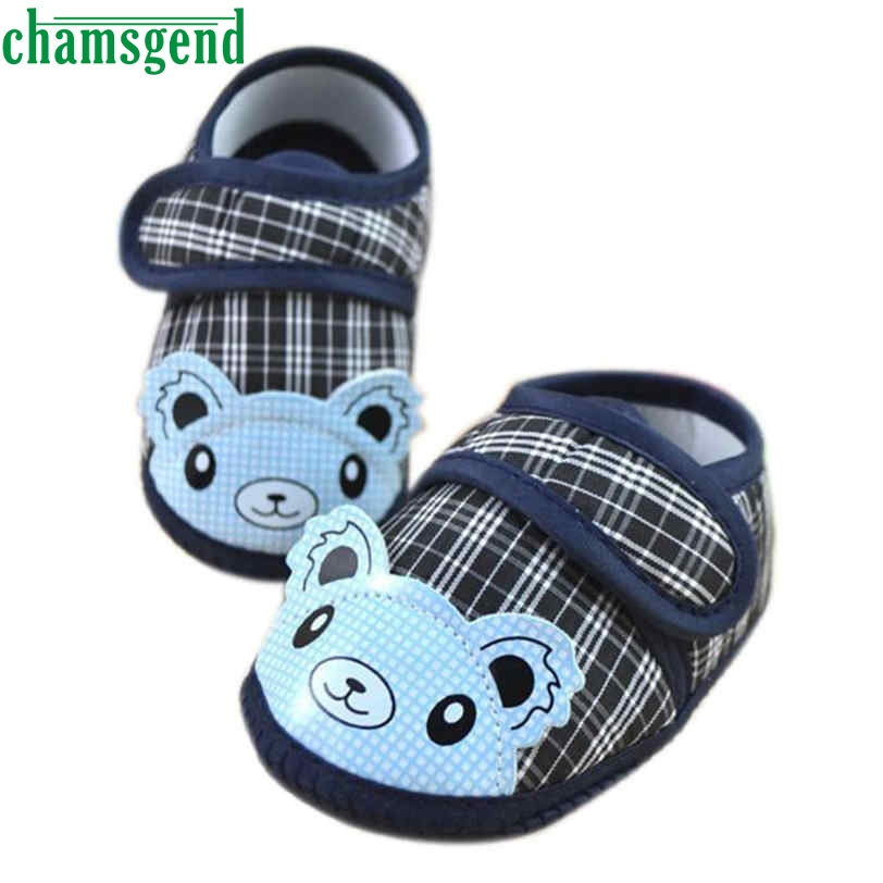 CHAMSGEND Best seller drop ship Fashion baby shoes bloved Cute Newborn Girl Boy Soft Sol ...
