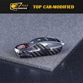 Free shipping Carbon Fiber Remote Smart Key Fob Holder Cover For Porsche Macan,Cayenne and Panamer-a