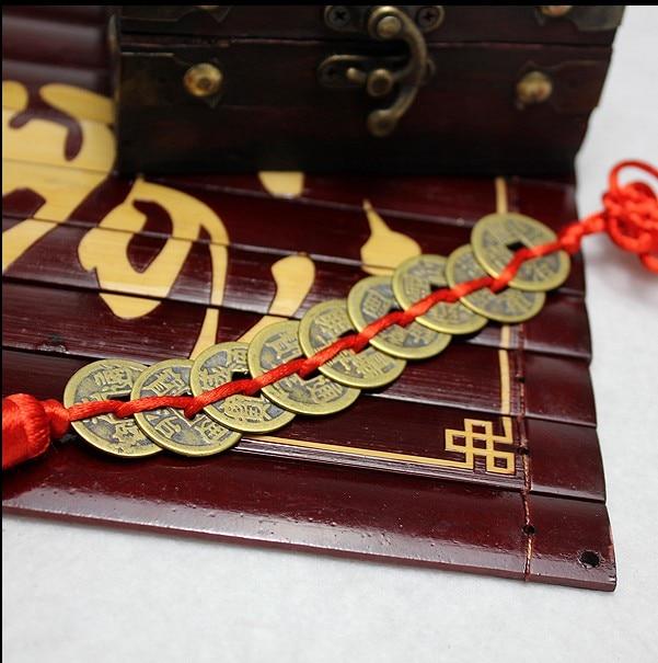 1 Set  de 9 pièces  de cuivre Feng Shui