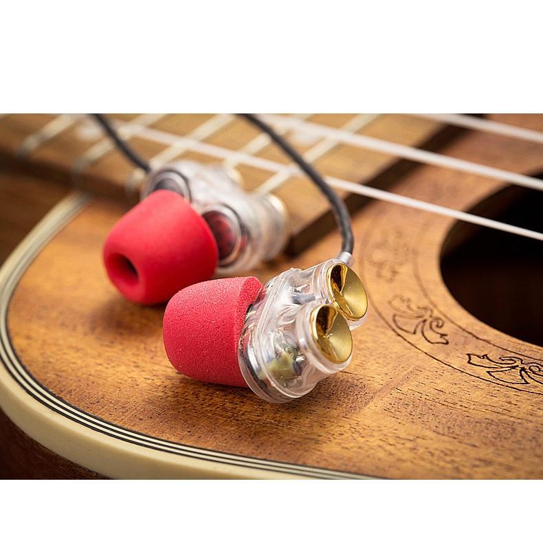 TWOM Z02 Dual Dynamic kaiutinkuulokkeet mikrofonilla matkapuhelimeen - Kannettava ääni ja video - Valokuva 4
