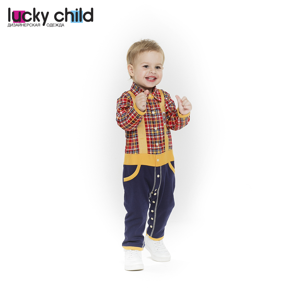 Jumpsuit Lucky Child for boys 27-1f Children's clothes kids