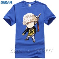 New Arrival Men's Anime One Piece Tee shirt Homme 2017 Summer Short Sleeve Printed T-shirts Unisex One Piece Anime Clothing