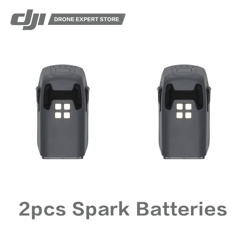 2pcs Original DJI Spark Intelligent Flight Battery 16 min Max. Flight Time цена
