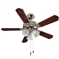 Ceiling Fans lamp modern bedroom living room dining room ceiling lamp iron fan home lighting Creative personality lights ZA