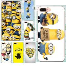 Minions Filme Für Apple iPhone 4 4 S 5 5C 5 S SE 6 6 S 7 8 Plus X XS Max XR Weiche Silikon TPU Transparent Handy Fällen Deckt(China)