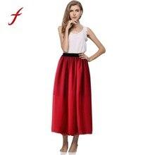 19ba54134 Promoción de Long Skater Skirt de alta calidad - Compra Long Skater ...