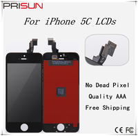 10PCS Lot Grade Quality AAA Ecran For IPhone 5C LCD Display Screen Replacement Lens Pantalla With