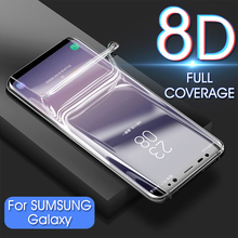 6D Full Cover Soft Hydrogel Film Screen Protector For Samsung Galaxy Note 9 8 S10 S9 S8 S7 S6 Edge Plus Protective