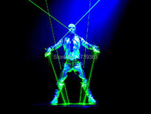 532nm 100mw Double-Headed lends Green Laser Sword DJ Dancing Stage Show Light star wars laser sword rough beam stage props