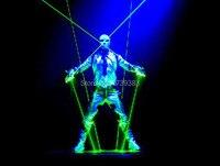 532nm 100mw Double Headed Lends Green Laser Sword DJ Dancing Stage Show Light Star Wars Laser