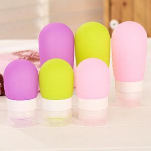 Image 2 - Bouteille de presse rechargeable pour voyageurs, Mini bouteille Portable pour voyageurs, pour Lotion, pour shampoing, bain, offre spéciale