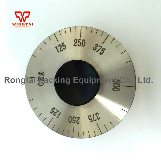 High Presicion 0-500um Stainless Steel Wet Film Wheels Thickness Gauge,Meter For Paint, Ink, Coating