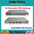 Asterisk, Servidor de Registro de 16 Canales FXS VoIP Gateway SIP DAG2000-16S Dinstar