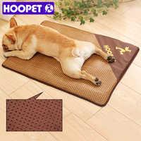 Hoopet cão esteira de resfriamento pet verão cama gato tapete mascotas cama perro sofá para cães casa