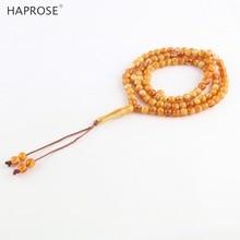 Bracelets tasbih, couleur ambre, accessoires en forme de Vase, musulman islamique, collier de 99 perles, accessoires cadeau