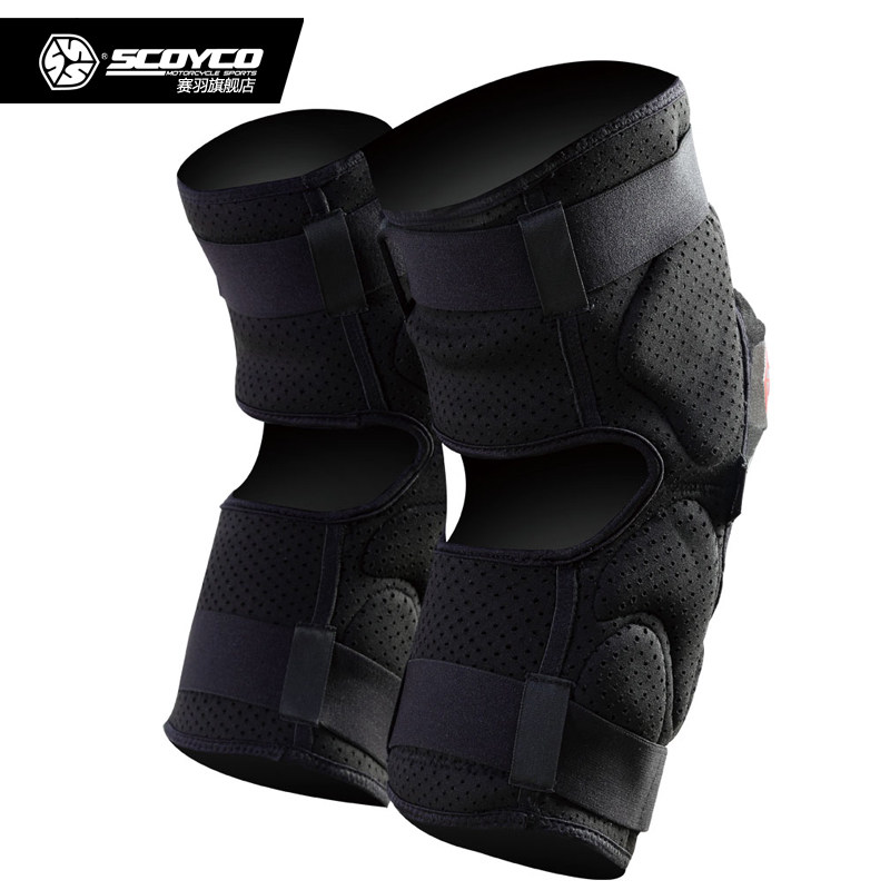 Scoyco K16 Motorcycle Knee Protector Motocross Racing knee pads Cycling Skating Protective Gears Motorcycle Kneepad scoyco k11h11 motorcycle sports knee elbow protector pad guard kit black
