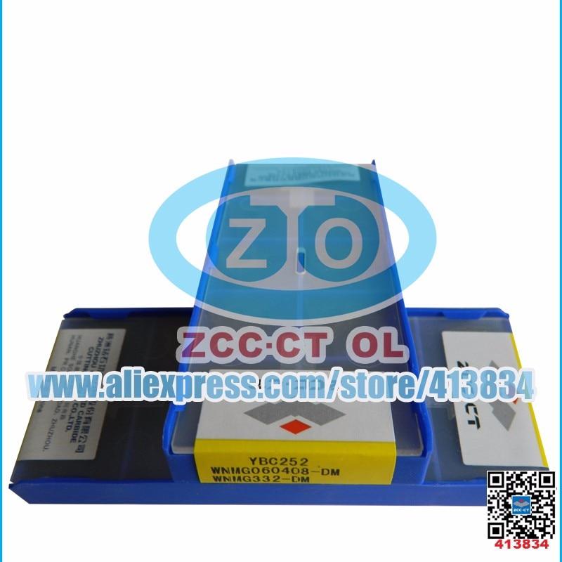 10pcs Zcc Inserts Wnmg060408 Dm Ybc252 Wnmg060408 Wnmg 060408 Dm