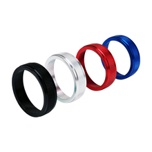 цена на 4pcs/set Car Air Conditioning AC Rotary Knob Cover Ring for VOLVO xc60 S60 V60 S80 V40 S60L Heat Control Switch Knobs Case