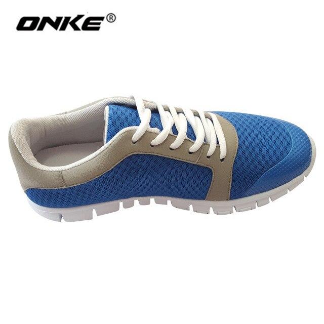eef246efc59bcc 2018 Hommes Chaussures Sneakers Respirant Hommes de Chaussures de Course  Flexible Athletic Trainers Hommes Chaussures de